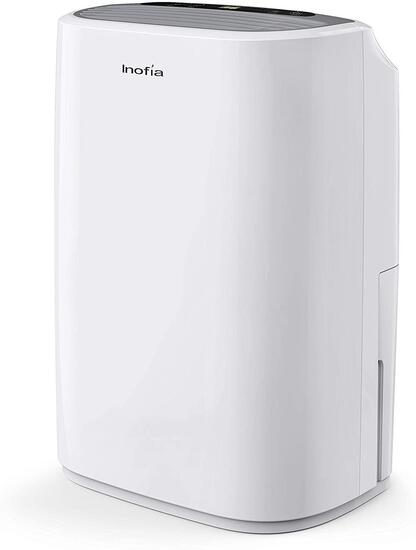 Inofia 30 Pints Dehumidifiers or Home Basements with Continuous Drain Hose Outlet - $168.00 MSRP