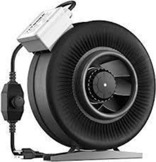 VIVOSUN 6 Inch 440 CFM Inline Duct Ventilation Fan with Variable Speed Controller - $67.99 MSRP