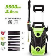 Homdox 3500 PSI 2.6 GPM Power Washer Electric