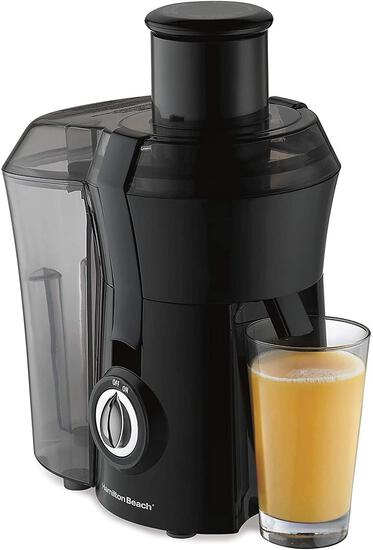 Hamilton Beach Juicer Machine, Big Mouth 3? Feed Chute, Centrifugal, Easy to Clean, BPA Free, 800W