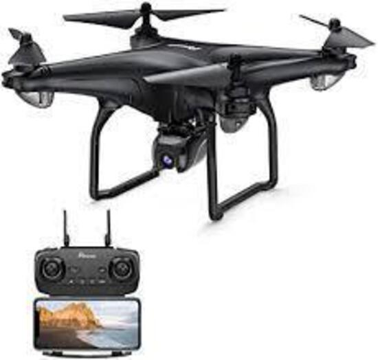 Potensic D58 FPV Drone with Camera for Adult, 1080P 5G WiFi FPV Live Transmission - $179.99 MSRP