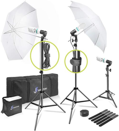 Julius Studio 660W Photo, Video, Portrait Photography Studio Day Light Umbrella $62.90 MSRP