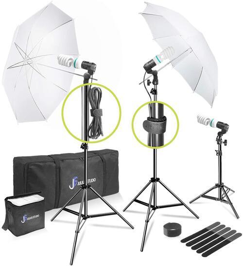 Julius Studio 660W Photo, Video, Portrait Photography Studio Day Light Umbrella $62.90 MSRP