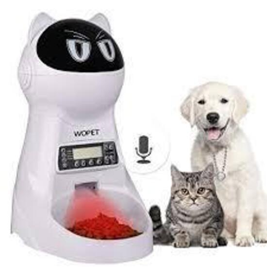 WOPet Pet Feeder, Automatic Cat and Dog Feeder Pet Food Dispenser Feeder