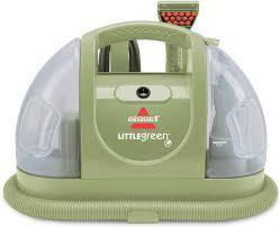Bissell Multi-Purpose Portable Carpet and Upholstery Cleaner, 1400B,Green - $109.63 MSRP