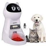 WOPet Pet Feeder, Automatic Cat and Dog Feeder Pet Food Dispenser Feeder