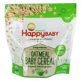 Happy Baby Organic Clearly Crafted Baby Cereal Oatmeal with Iron - 7 oz.Happy Family