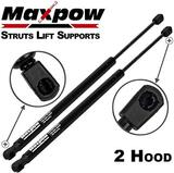 Maxpow 2 Pcs Gas Charged Hood Lift Support Struts Compatible with Ford F-250 Super Duty 1999-2007