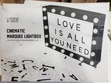 Marquee Light Box, Cinema Light Box Size 16.5 x 11.8 x 2 (B077W3WPS8) - $44.99 MSRP