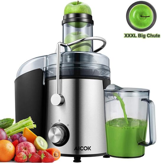 Aicok Juicer Extractor 1000W Centrifugal Juicer Machines (GS-332) - $65.99 MSRP