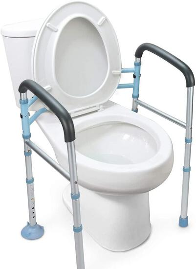 OasisSpace Stand Alone Toilet Safety Rail - $56.99 MSRP