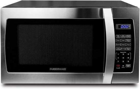 Farberware Professional FMO13AHTBKE 1.3 Cu. Ft. 1000-Watt, Microwave Oven - $109.77 MSRP