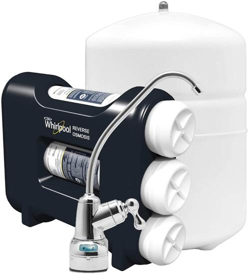 Whirlpool WHAROS5 Reverse Osmosis (RO) Water Filtration System With Chrome Faucet $122.97 MSRP