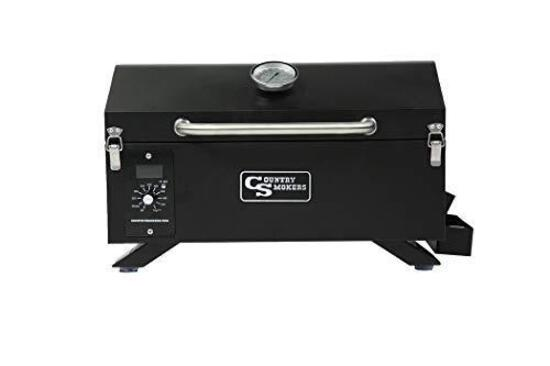 Country Smokers CS150PPG Traveler Wood Pellet Grill and Smoker