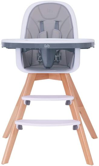 Baby High Chair with Double Removable Tray for Baby/Infants/Toddlers, 4-in-1 Wooden $149.99 MSRP