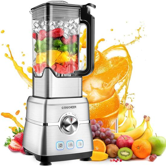 Blender Smoothie Maker, Coocheer 1800W Blender for Shakes and Smoothies with High-Speed $109.99 MSRP
