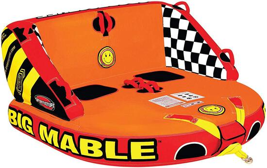Sportsstuff Big Mable 1-2 Rider Towable Tube for Boating - $279.99 MSRP