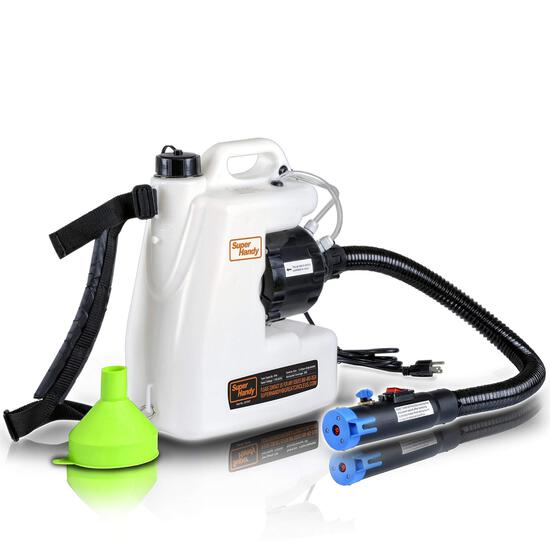 SuperHandy Fogger Machine Disinfectant Fogger Atomizer Spray Mist Duster ULV Sprayer 3GAL 1-15GPH