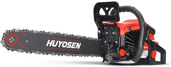 Gas Power ChainSaws Corded 54.6CC 2Cycle GasPowered Chainsaw 72DL Chain Guide Bar 5520L $148.99 MSRP