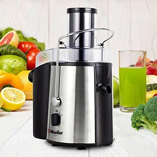 Mueller Juicer Ultra 1100W Power, Juice Extractor MU-100 $135.99 MSRP