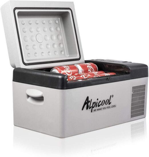 Alpicool C20 Portable Refrigerator 21 Quart(20 Liter) 12 Volt Fridge Freezer - $199.00 MSRP