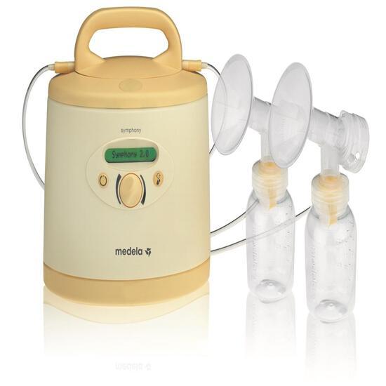Medela Symphony Breast Pump, Hospital Grade Breastpump, Single or Double Electric Pumping 0240108