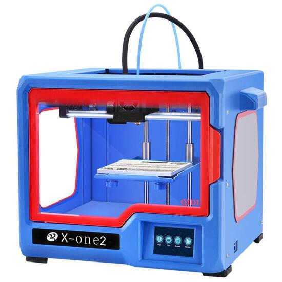 QIDI Technology X-one2 Single Extruder 3D Printer,Metal Frame Structure $269.00 MSRP