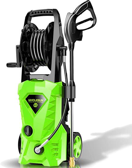 WHOLESUN 3000PSI Electric Pressure Washer 2.4GPM Power Washer 1600W High Pressure Cleaner Machine