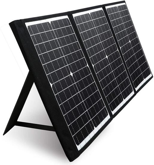 PAXCESS 60W 18V Portable Solar Panel, Off Grid Foldable Solar Charger - $127.49 MSRP