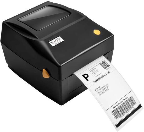 MFLABEL Label Printer, 4x6 Thermal Printer DT426B-Black - $119.99 MSRP