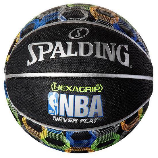 Spalding NBA Neverflat Hexagrip SGT Basketball - $24.99 MSRP