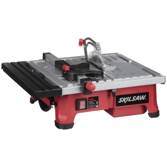 SKILSAW 5-Amp 7-Inch Wet Tile Saw with Hydro Lock System, 3550-02 - $179.93 MSRP
