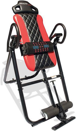 Health Gear Heat & Vibration Massage Inversion Table, ($):$149.98