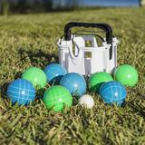EastPoint Sports Resin 90mm Bocce Ball Set (Backyard Set) - $39.19 MSRP