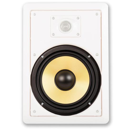 """Acoustic Audio HD-800-PR 8"""" Speaker 2-Way Home Theater In-Wall/Ceiling Speaker Pair (HD-800-PR)"""