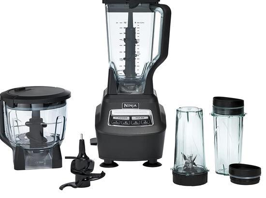 Ninja BL770 Mega Kitchen System and Blender with Total Crushing Pitcher, Food Processor Bowl, Dough