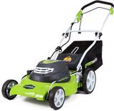 Greenworks 12 Amp 20-Inch 3-in-1Electric Corded Lawn Mower, 25022 - $165.06 MSRP