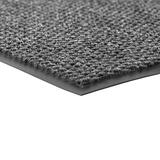 Notrax - 136S0046GY 136 Polynib Entrance Mat, for Home or Office, 4' X 6' Gray