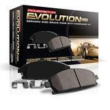 Power Stop 17-1011, Z17 Front Ceramic Brake Pads with Hardware 2 Packs / Brake Rotors 2 Pack