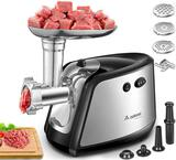 Electric Meat Grinder, AOBOSI 3-IN-1 Meat Mincer and...Sausage Stuffer,?1200W Max?