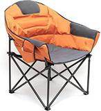 Sunnyfeel Oversized Club Camping Chair, Moon Round Saucer Chair