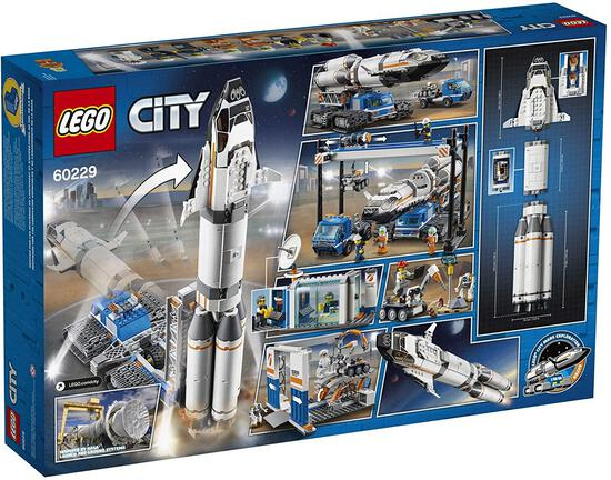 LEGO City Rocket Assembly and Transport 60229 Building Kit (1055 Pieces)