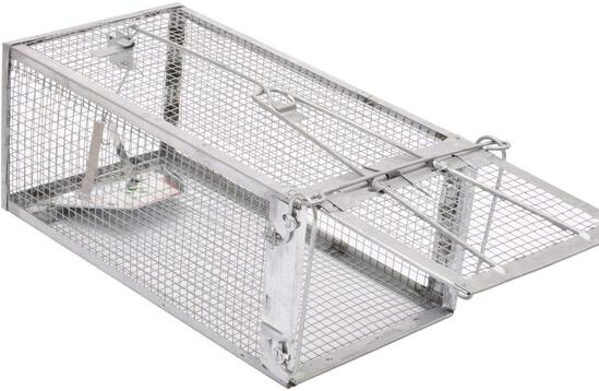 Kensizer Small Animal Humane Live Cage Rat Mouse Chipmunk Rodent Voles Hamsters Trap - $17.99 MSRP