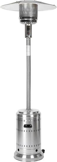 Amazon Basics Outdoor Patio Heater with Wheels, Propane 46,000 BTU, Commercial $175.99 MSRP