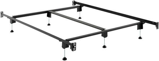 STRUCTURES STEELOCK Headboard-Footboard Super Duty Steel Wedge Lock Metal Bed Frame - $249.99 MSRP