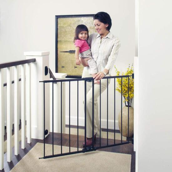 """Toddleroo by North States 47.85"""" Wide Easy Swing and Lock Baby Gate $46.49 MSRP"""