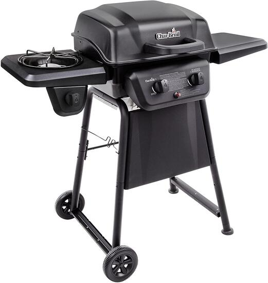 Char-Broil Classic 280 2-Burner Liquid Propane Gas Grill with Side Burner (463672817) - $159.99 MSRP