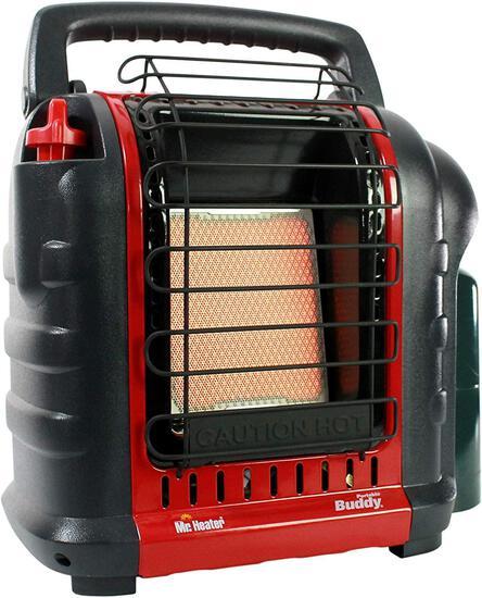 Mr. Heater Buddy 4,000-9,000-BTU Indoor-Safe Portable Propane Radiant Heater, Red-Black $104.92 MSRP