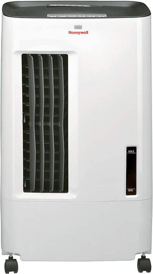 Honeywell CS071AE Quiet,Low Energy,Compact Portable Evaporative Cooler with Fan and Humidifier,White