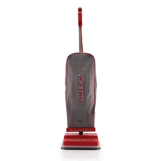Oreck Commercial Upright Bagged Vacuum Cleaner, U2000R-1, Gray/Red - $176.49 MSRP
